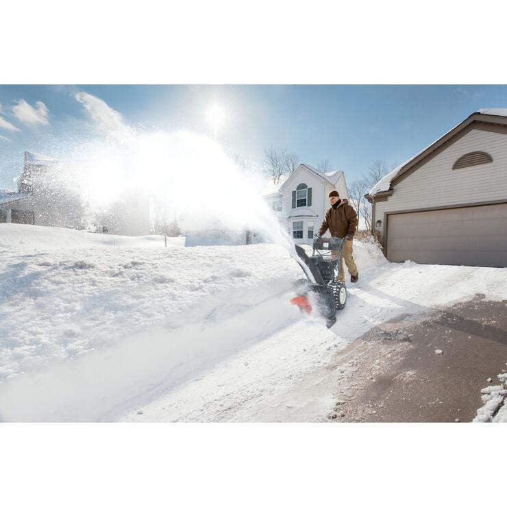 Souffleuse à neige de 420 cm³, 30 po