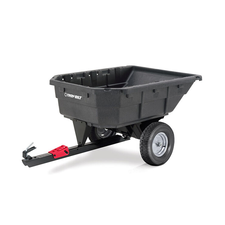 12.5 CF Poly Swivel Dump Cart