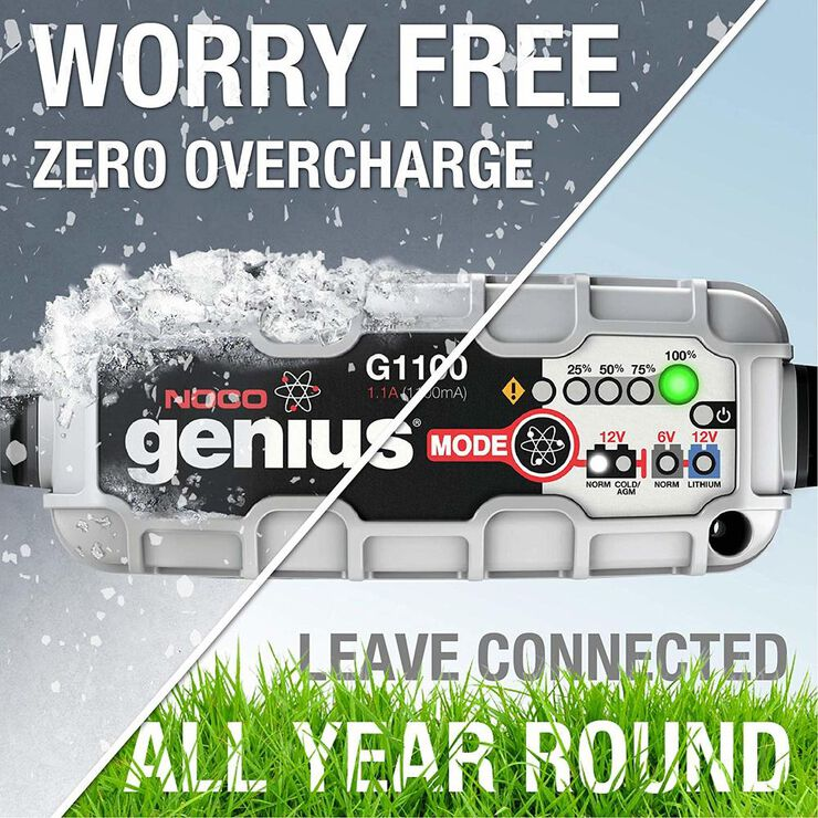 NOCO Genius G1100 Smart Battery Charger