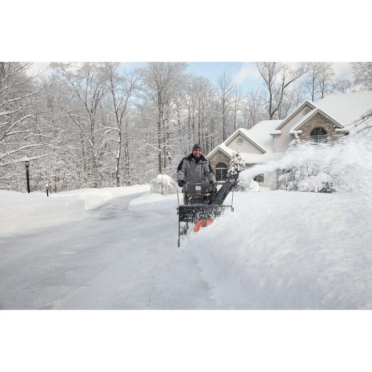 Souffleuse à neige à trois phases de 272 cm³, 24 po