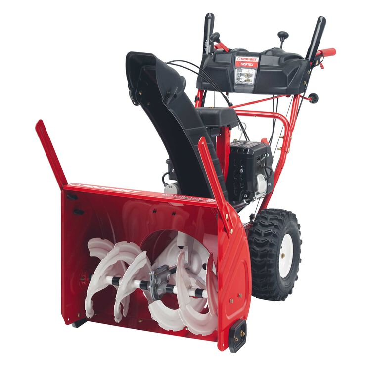 "24"" Two Stage Snow Blower with Electric Start"