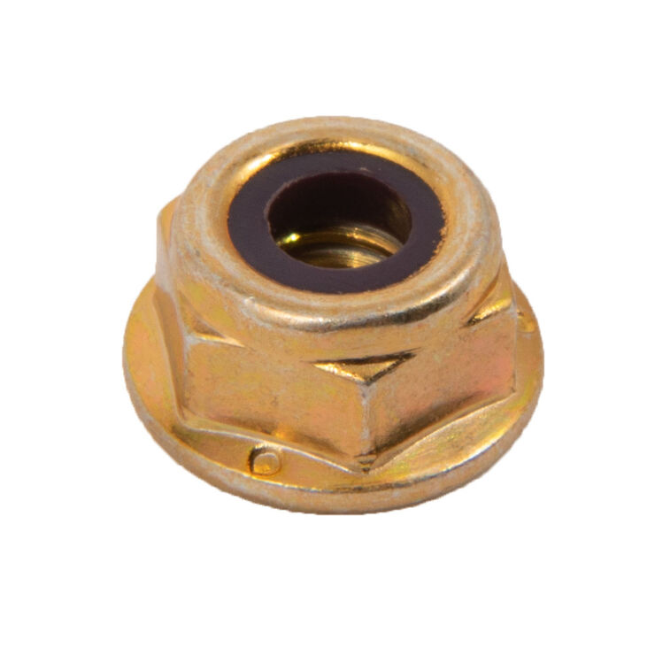 Hex Flange Lock Nut, 1/4-20