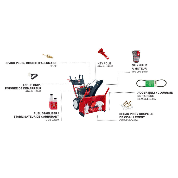 30-in. 420cc 3-Stage Gas Snow Blower