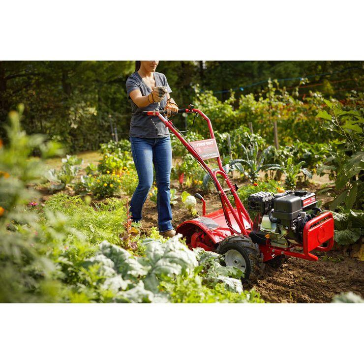 Super Bronco Garden Tiller