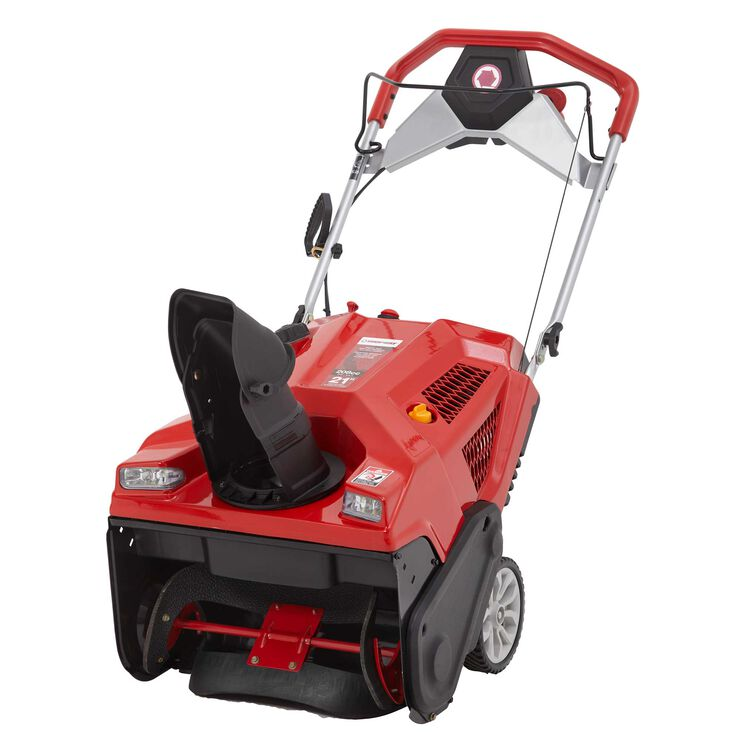"""21"""" Single Stage Snow Blower with Electric Start"""