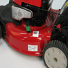 Walk-Behind Mowers location of product label