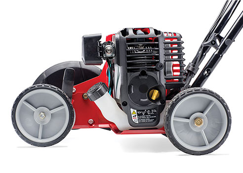 side view of Troy-Bilt Edger