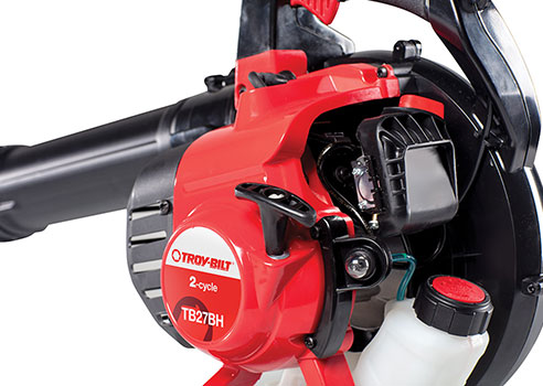 side view of Troy-Bilt Leaf Blower